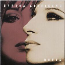 Barbra Streisand - Duets CD NEIL DIAMOND BARRY MANILOW CELINE DION BRYAN ADAMS