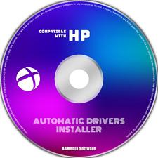 HP All Models PC, Laptop & Desktop Automatic Windows Drivers Installer CD