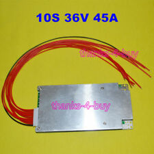 10S 37/42V 45A BMS PCB Protection Balance Board For ebike Li-ion Lithium Battery