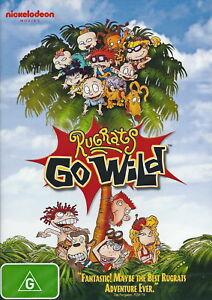 Rugrats Go Wild - Animation / Children / Family / Adventure - NEW DVD
