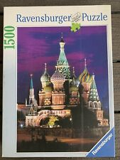 RAVENSBURGER 1500 Piece JIGSAW Puzzle MOSCOW Red Square