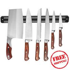 "13"" Magnetic Wall Mount Knife Scissor Storage Utensil Holder Rack Strip Kitchen"