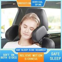 Car Seat Headrest Comfort Memory Foam Car Side Sleep Headrest Neck Guard Ne P8S2