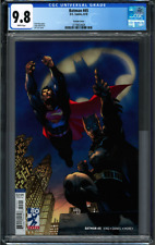 Batman #45 CGC 9.8 Jim Lee Cover 6/2018 Superman