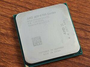 AMD A10-6700 3.70GHz Quad Core Socket FM2 CPU Processor AD67000KA44HL