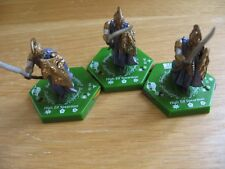 LOTR TMG Combat Hex FE High Elf army lot of 5 different figures including 2 RARE