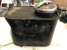Harley Police Oil Tank Panhead Knucklehead  # 6140