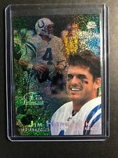 1997 Flair Showcase Row 0 Indianapolis Colts Football Card #44 Jim Harbaugh