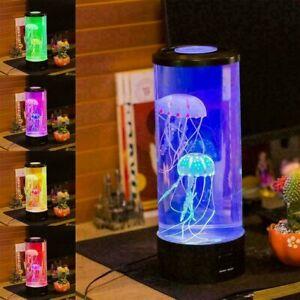 LED Jellyfish Mood Lamp Aquarium Jellyfish Color change Bedroom Desk Night Light