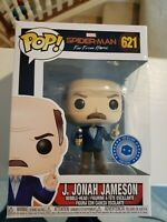 Funko Pop! Marvel Spiderman Far From Home J Jonah Jameson Pop in A Box + Protect