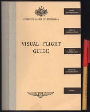 Vintage PILOT VISUAL FLIGHT GUIDE 240pg Commonwealth Of AUSTRALIA Fly Plane