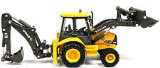 1:87 VOLVO CONSTRUCTION LOADER BACKHOE - NEW DIECAST IN DISPLAY CASE