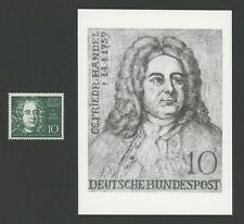 BUND FOTO-ESSAY 315 HÄNDEL 1959 KOMPONIST COMPOSER PHOTO-ESSAY PROOF RARE!! e632