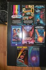 STAR TREK VHS MOVIE LOT /NEVER BEEN PLAYED /FAMILY ESTATE