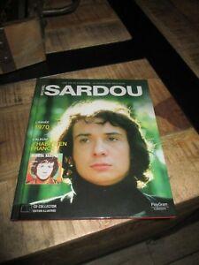 Michel Sardou-Cd 22 Succès-année 1970 + Livre-Collection Officielle-Comme Neu