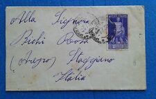 67  GUERRA CIVILE SPAGNOLA ANNULLO SPECIALE 5 X STAGGIANO AREZZO 1938