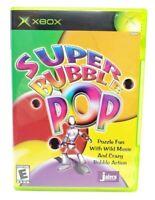 Super Bubble Pop Microsoft Xbox Original Game