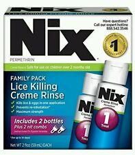 2x Nix Lice Treatment, 2 fl oz (family pack) See description before buy