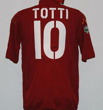 MAGLIA ROMA TOTTI  JERSEY SHIRT issued 2003 2004 MAZDA KAPPA no MATCH WORN