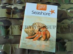 SEASHORE GUIDE - New Collins Gem Sea Shore Bushcraft Coast Pocket Book Foraging