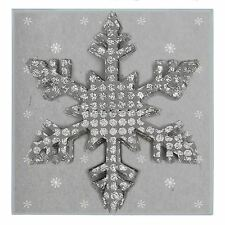 East of India Paper garland - Silver snowflakes 2m Christmas Decoration
