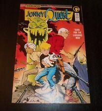 JONNY QUEST #3 GUNS FOR THE LAUGHING MAN COMICO COMICS  EXCELLENT CONDITION 1986