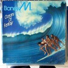 BONEY M LP OCEANS OF FANTASY 1979 GERMANY VG+/VG+