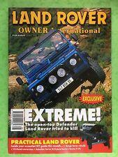 Land Rover Owner International - August 1996 - Range, Defender Convertible