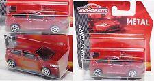 Majorette 212053050 Citroen C4 Coupé rot 5-Doppelspeichen-Felge 1:57 Street Cars