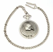 American Football Helmet Pocket Watch Gift Boxed With FREE ENGRAVING Gift