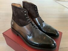 1,200$ Bally Lucien Brown Leather Goodyear Welted US 11.5 Made in Switzerland