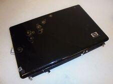 HP Pavilion DV7-2000 Series LCD Back Cover Lid w/hinges Black + Bezel 519029-001