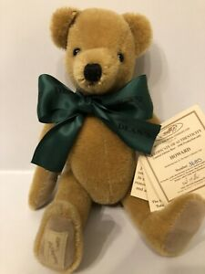 Deans Rag Book Mohair Jointed Teddy Bear 'Howard' 1998 Membership Bear 11""