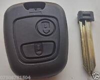 CITROEN SAXO XSARA BERLINGO PICASSO SX9 2 BUTTON REMOTE KEY FOB CASE SHELL COVER