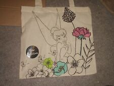 Disney - Tinkerbell-in Garden - Canvas Tote Bag - New Collection