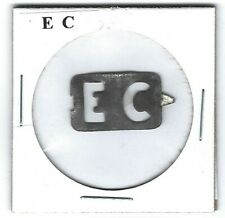 E C Chewing Tobacco Tag E109 Embossed