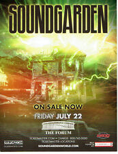 4-SOUNDGARDEN W/ THE MARS VOLTA L.A. FORUM SHOW CARDS Out Of Print Chris Cornell