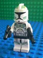 Lego Star Wars Green Clone Commander Minifig 7913 Rare!