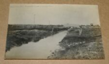 c1910 Creek Drainage Ditch Kaneville Illinois RPPC IL
