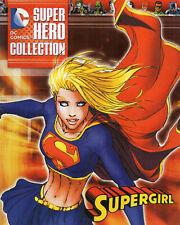 Eaglemoss Dc Super Hero Collection Supergirl Michael Turner Cover No Figure 2015