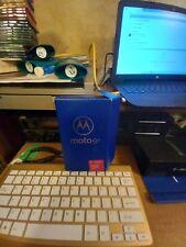 Motorola Moto E6 T- Mobile Cellphone. Blue 5.5in.screen 12mp rear camera.
