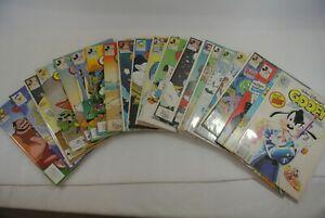 Disney Comics Disney Adventures Books Goofy Donald F to NM Lot of 22 Books