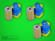 3 x SH418 Ölfilter NSU TT TTS PRINZ 600 1000 1200 BMW E10 1500-2000