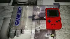 Console NINTENDO GAMEBOY CLASSIQUE rouge en boite