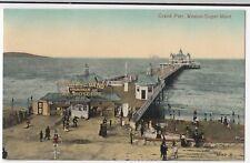 Somerset; Grand Pier, Weston Super Mare PPC Note Bioscope & Viennese Band Advert