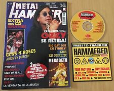 METAL HAMMER N 137- ABRIL 1999 + CD HAMMERED 4 + 2 MEGA POSTERS: METALLICA