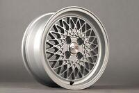"Melber L165 7J 15"" 4x100 Felgen BMW E30 E21 ET12 VW Golf Jetta Polo wheels rims"