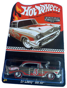Hot Wheels 2015 Red Line Collectors Club Zamac Edition '57 Chevy Bel Air
