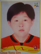 Panini 201 Choe Yong Sim Korea DPR FIFA Women's WM 2011 Germany