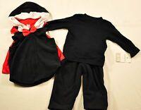 baby girl Carter's 3 piece set size 6-9 months hoodie, long sleeve shirt, pants